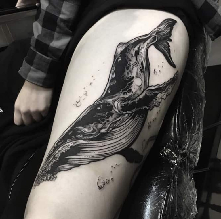 whale-blackwork-tattoo